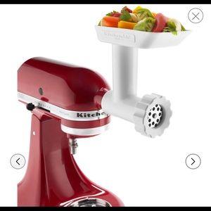 BNWT Kitchen Aid Mixer Food Grinder Attachment